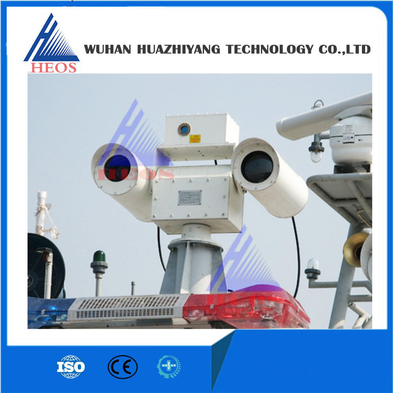 Electro Optical CCD Infrared Surveillance Camera Systems , Air / Sea Surveillance Systems