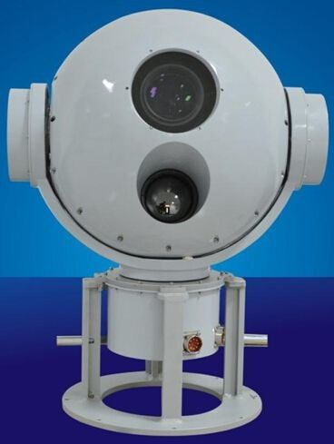 Maritime / Aircraft Electro Optical Tracking System , Video Imaging Evidence Tracking System